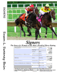 Signers   The Story of a Woman in the Men's World of Horse Betting