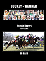 Jockey-Trainer Exacta Report Woodbine Shipping to Canada